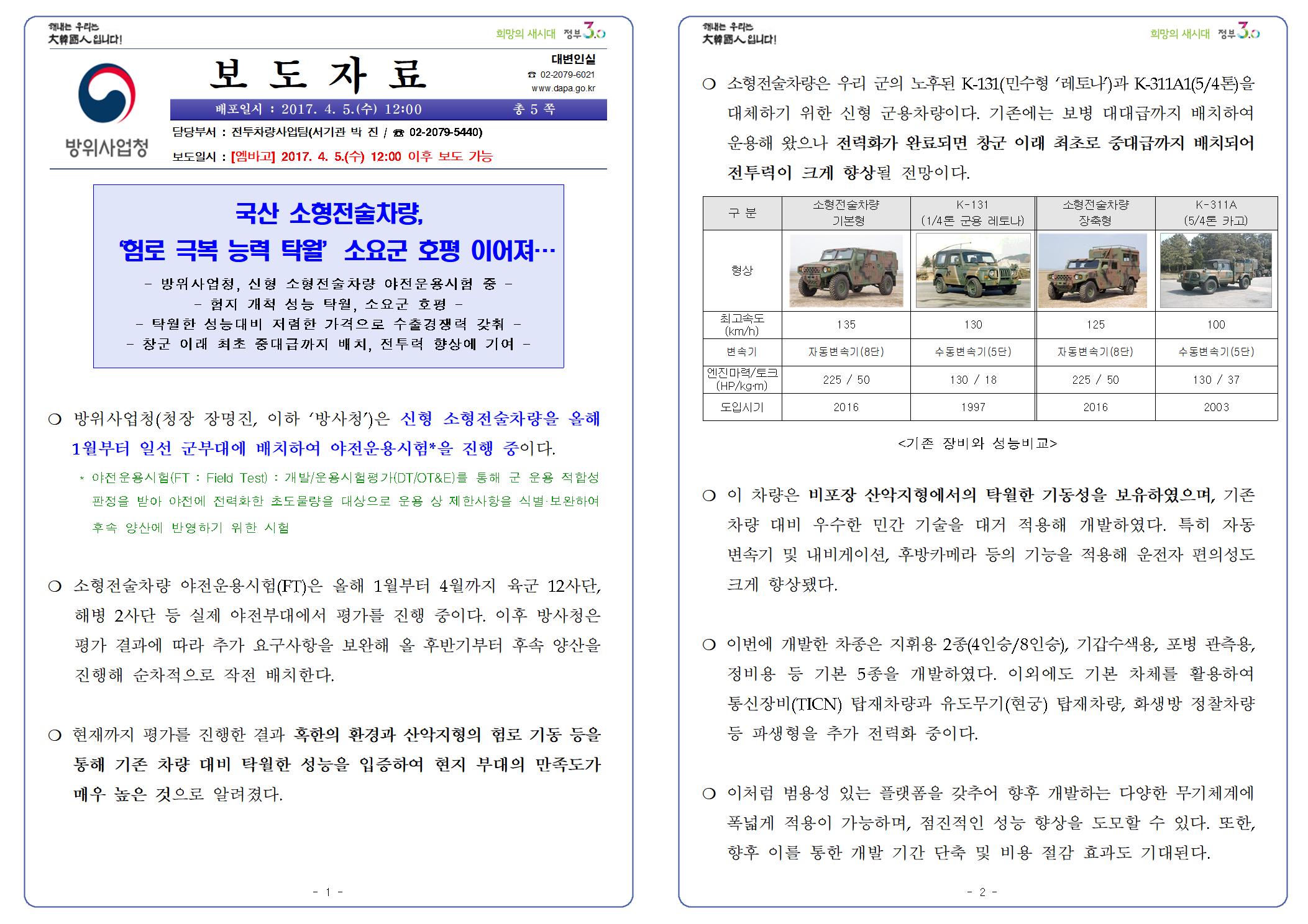170405 %5B보도자료%5D 소형전술차량 야전운용시험001.png