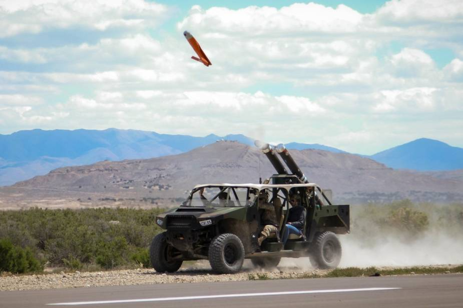 US_Army_testing_launching_of_ALTIUS_drone_from_ISV_Infantry_Squad_Vehicle.jpg