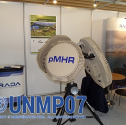 이스라엘 RADA의 Multi-mission Hemispheric Radar-based (MHR) RPS-42 레이더